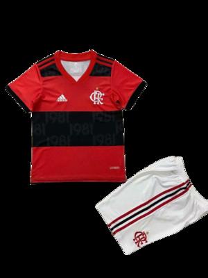 Kit Infantil Adidas Flamengo I 2021
