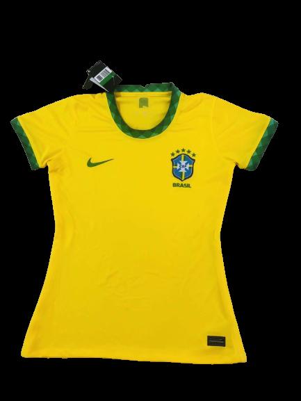 Camisa da Seleção Brasileira I 20/21 Nike - Torcedora - Feminina