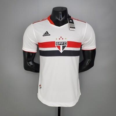 Camisa São Paulo I 21/22  Jogador Adidas Masculina