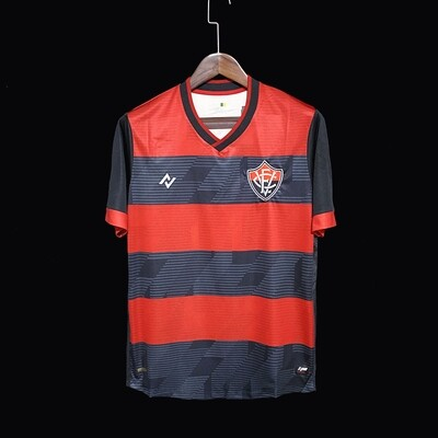 Camisa EC Vitória Home   2021 Nego