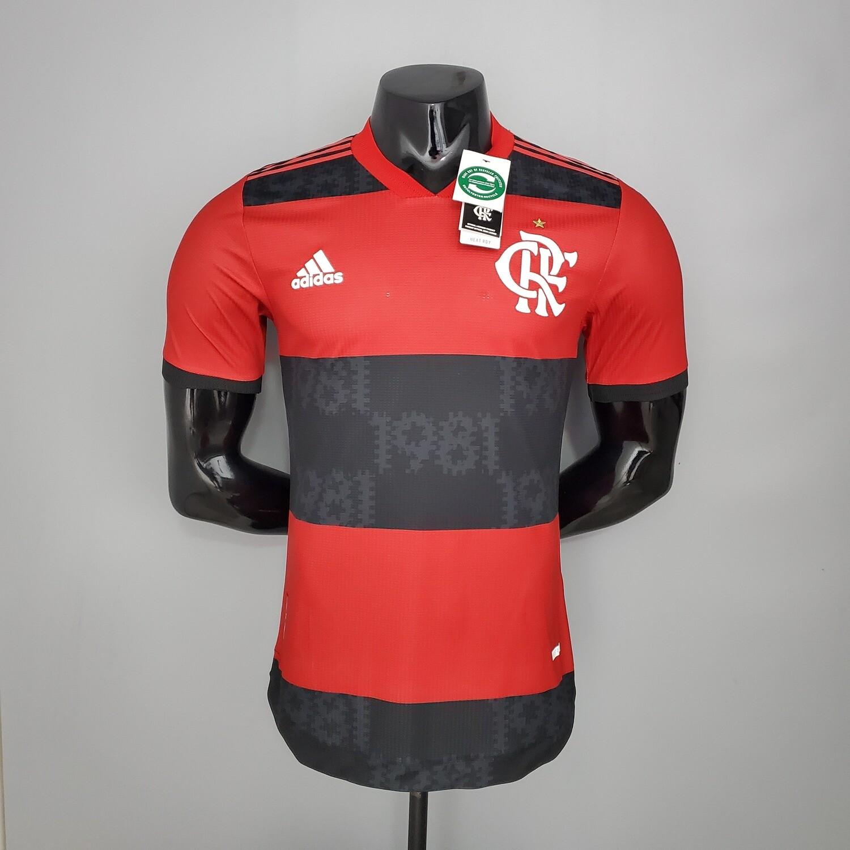 Camisa Flamengo Jogo 1 Authentic Adidas 2021 (Jogador)