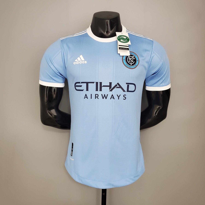 Camisa New York City 2021 Adidas MLS Home Jogador