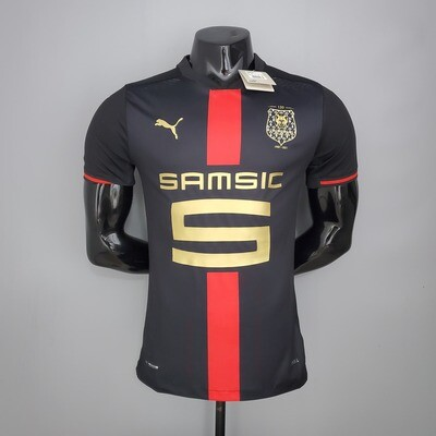 Camisa Stade Rennais Jogador 120 anos