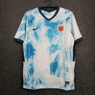 Camisa Noruega 2020-2021 Nike Jogo 2