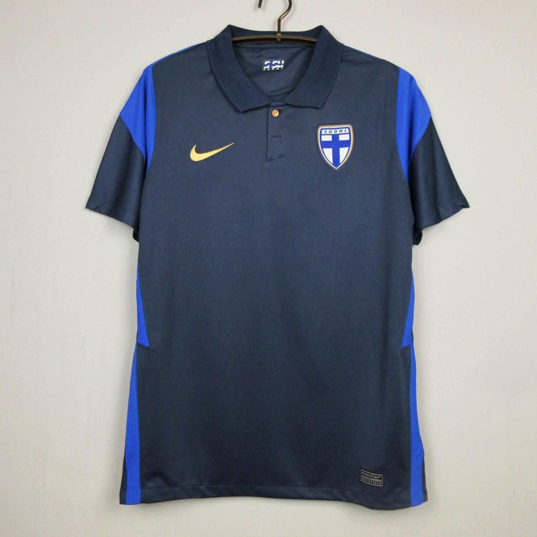 Camisa Finlândia 2020-2021 Nike Uniforme Reserva