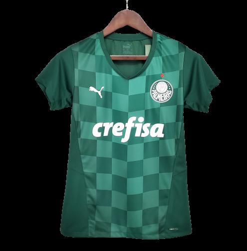 Camisa Palmeiras I 21/22  Torcedor Puma Feminina - Verde