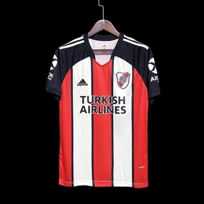 Camisa reserva do River Plate Uniforme três 2021 Adidas