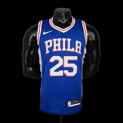 Regata Philadelphia 76ers Azul