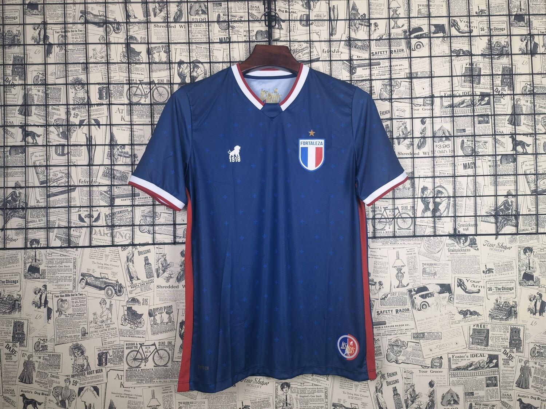 Camisa Leão 1918 Fortaleza III 2020  - Azul