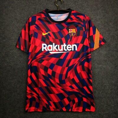 Camisa Barcelona Pré-jogo 20/21 Nike Masculina -