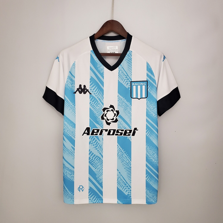 Camisa Racing Club 2021/2022 I Home Kappa