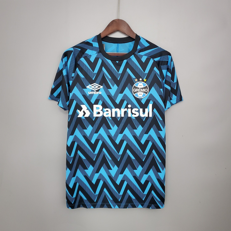 Camisa Umbro Grêmio Aquecimento 2021