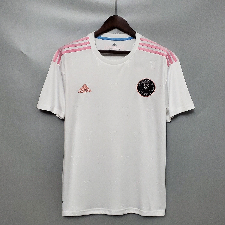 Camisa Inter Miami I 20/21 - Torcedor Adidas Masculina - Branco