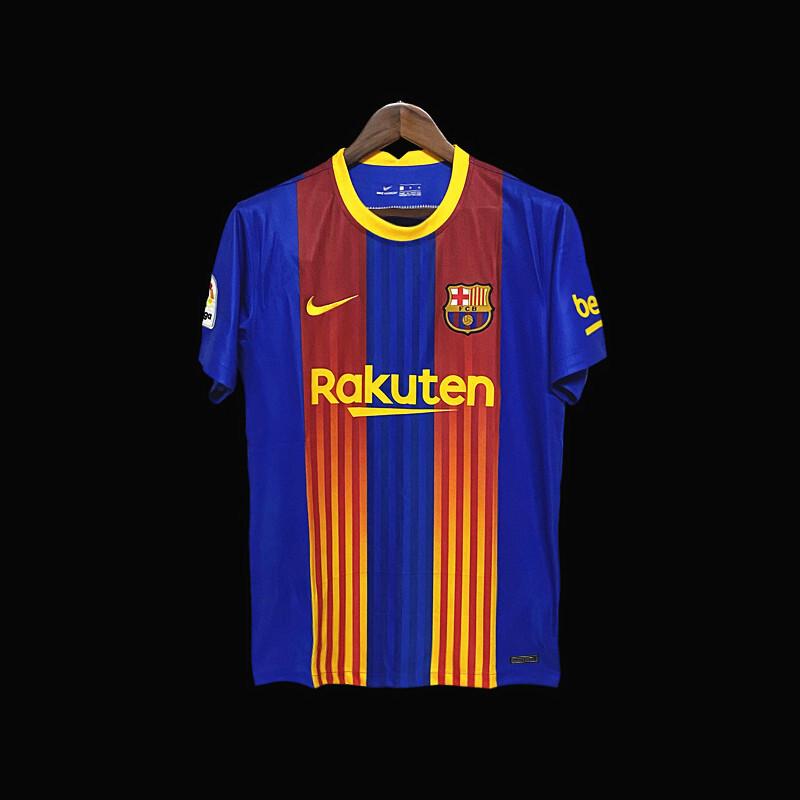 Camisa  Barcelona 2020/2021 Nike Torcedor Uniforme 4