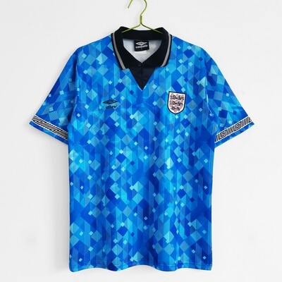 Camisa Inglaterra 1990 Uniforme 3