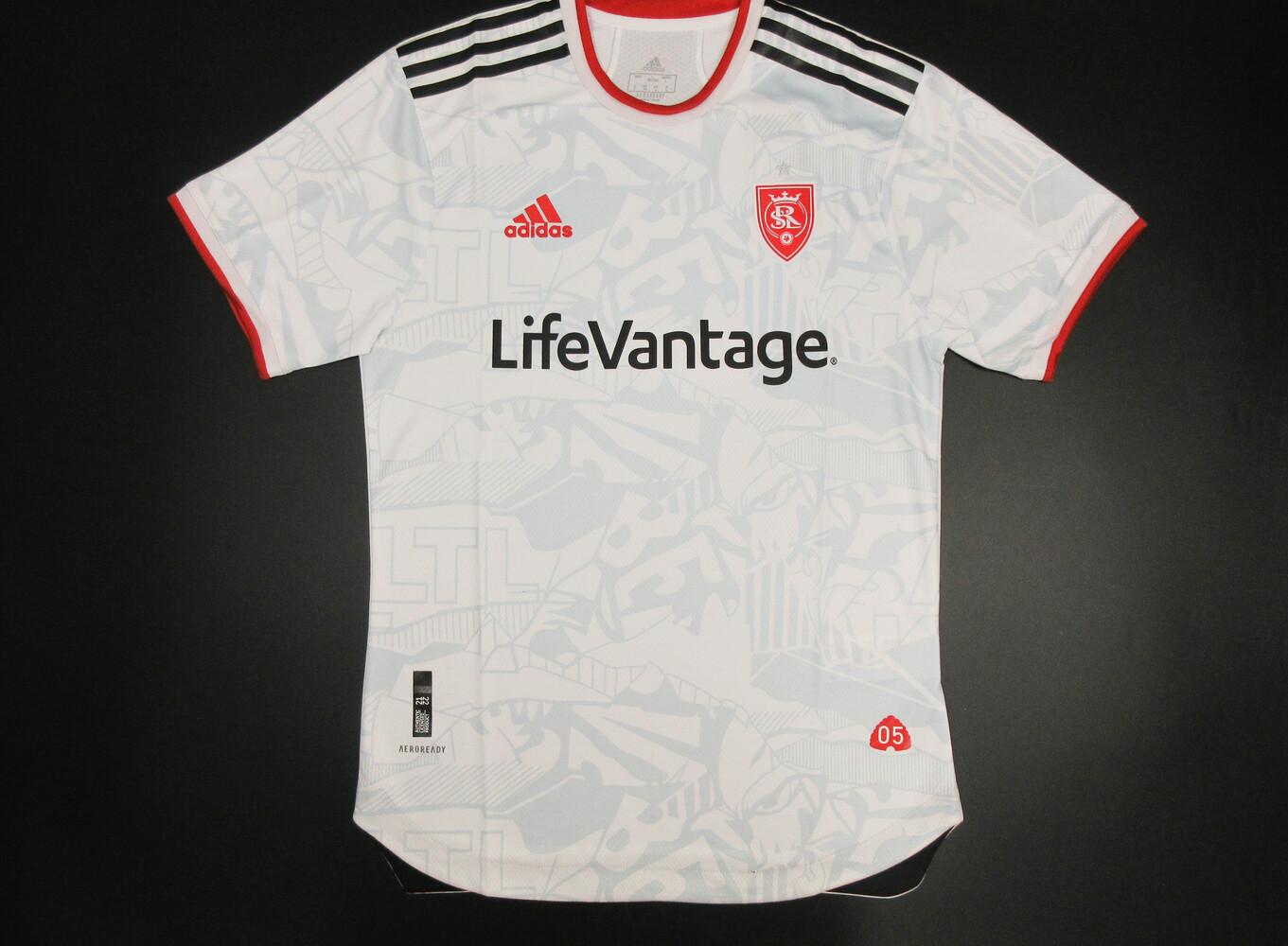 Camisa Real Salt Lake 2021/2022 Away -Jogador