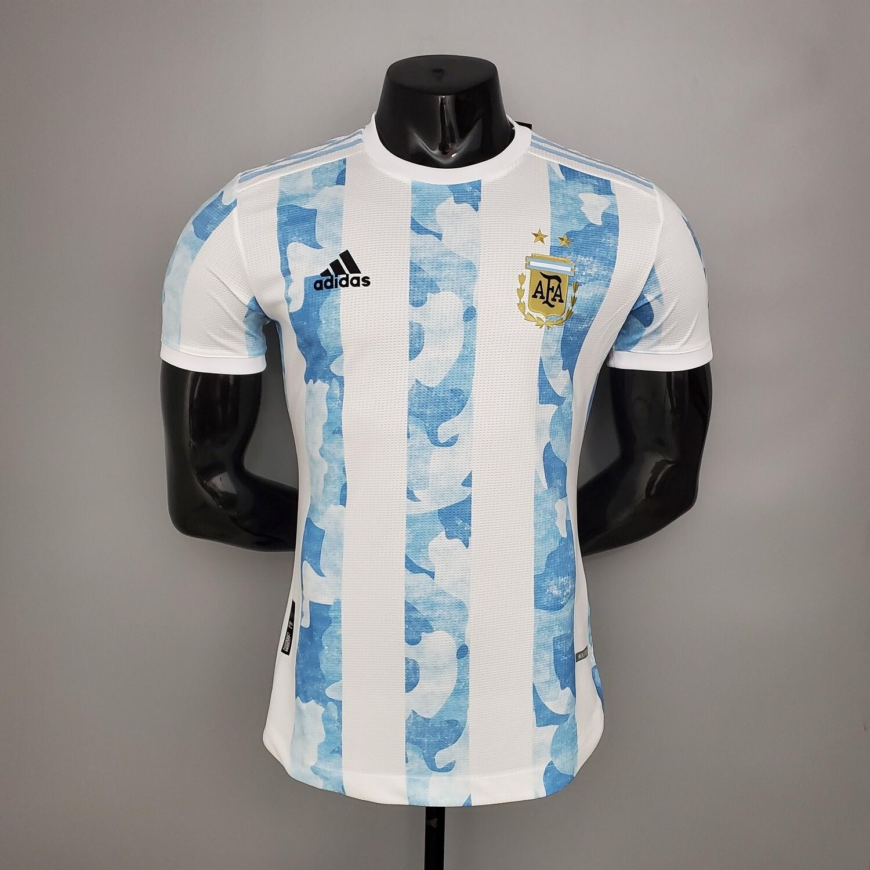 Camisa Argentina Home 2020 Versão Jogador
