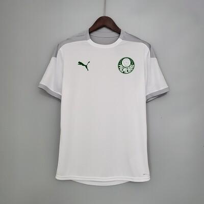 Camisa de Treino Palmeiras 2021/2022 Puma Masculina Branca