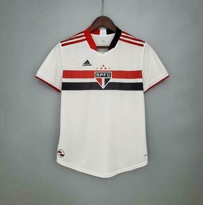 Camisa Adidas São Paulo I 2021 Feminina
