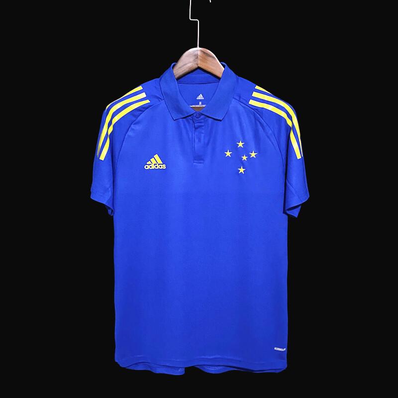 Camisa Polo Cruzeiro Comissão Técnica 21/22 Adidas Masculina