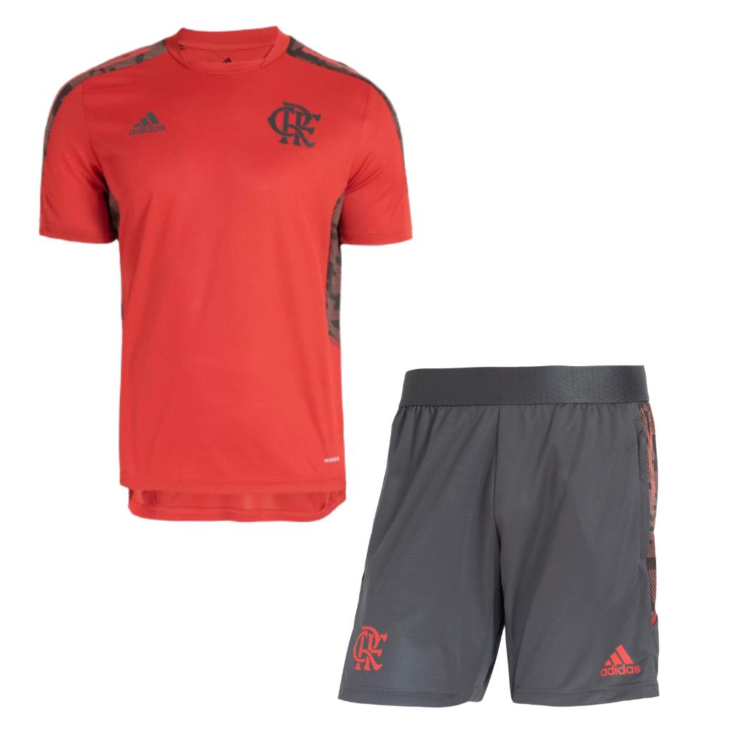 Kit Treino Flamengo 2021/2022 Camisa + Calção
