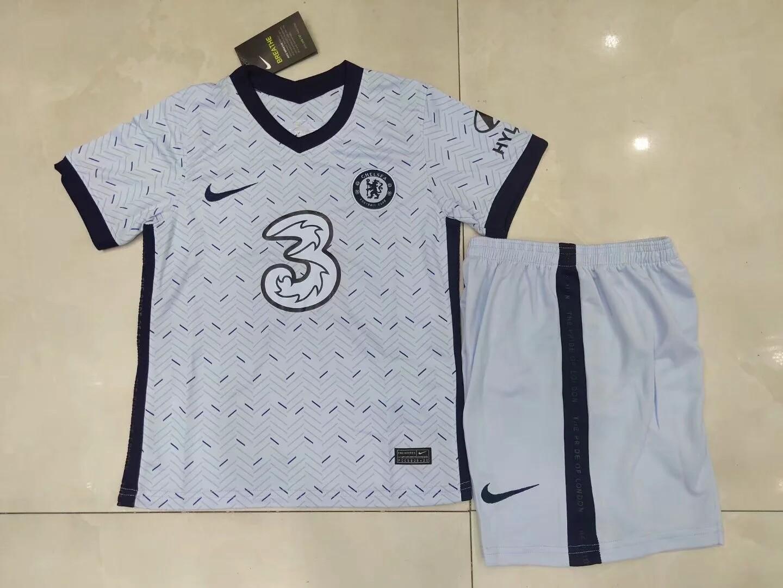 Camisa Chelsea  2020/2021 Infantil Uniforme 2