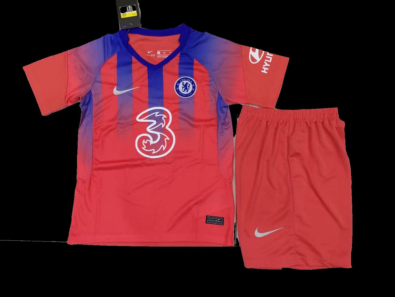 Camisa Chelsea  2020/2021 Infantil Uniforme 3