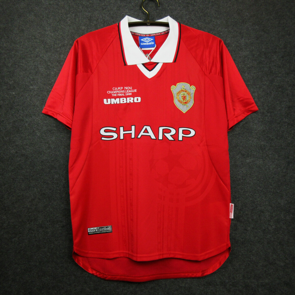 Camisa do Manchester United Retro 1999/2000