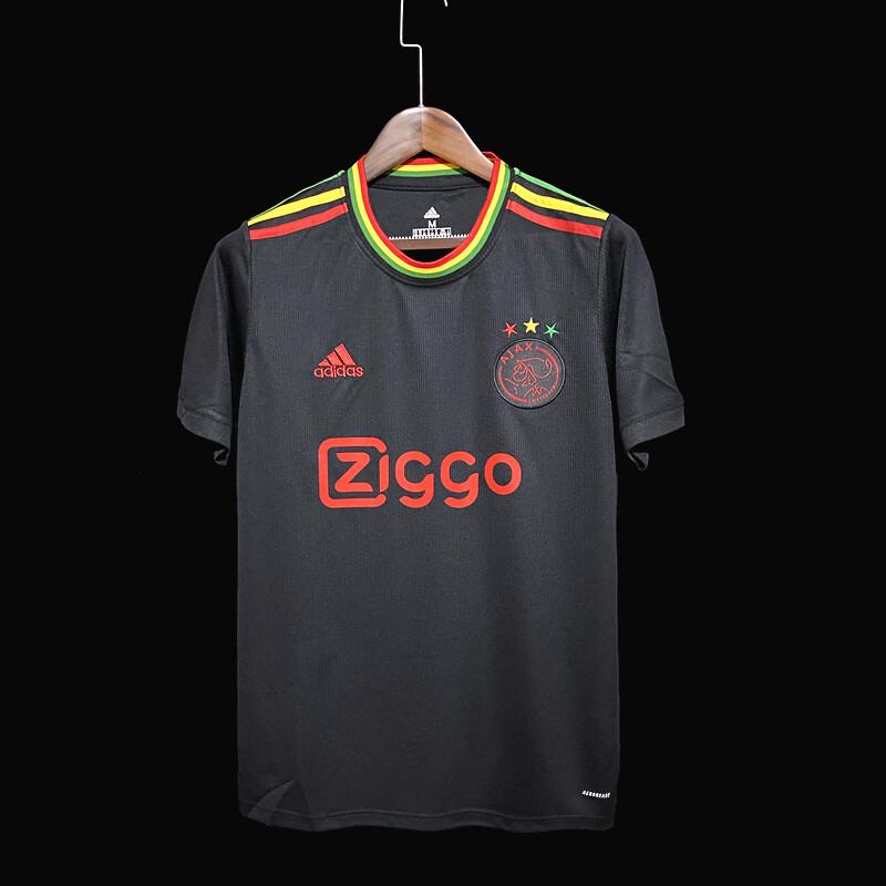 Camisa Ajax Homenagem a Bob Marley 2021-2022