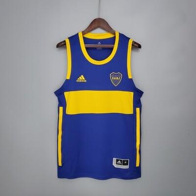 Regata  Boca Juniors Home 20/21  Torcedor Adidas Masculina