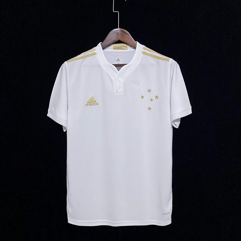 Camisa Cruzeiro II 21/22  Torcedor Adidas Masculina - Branca