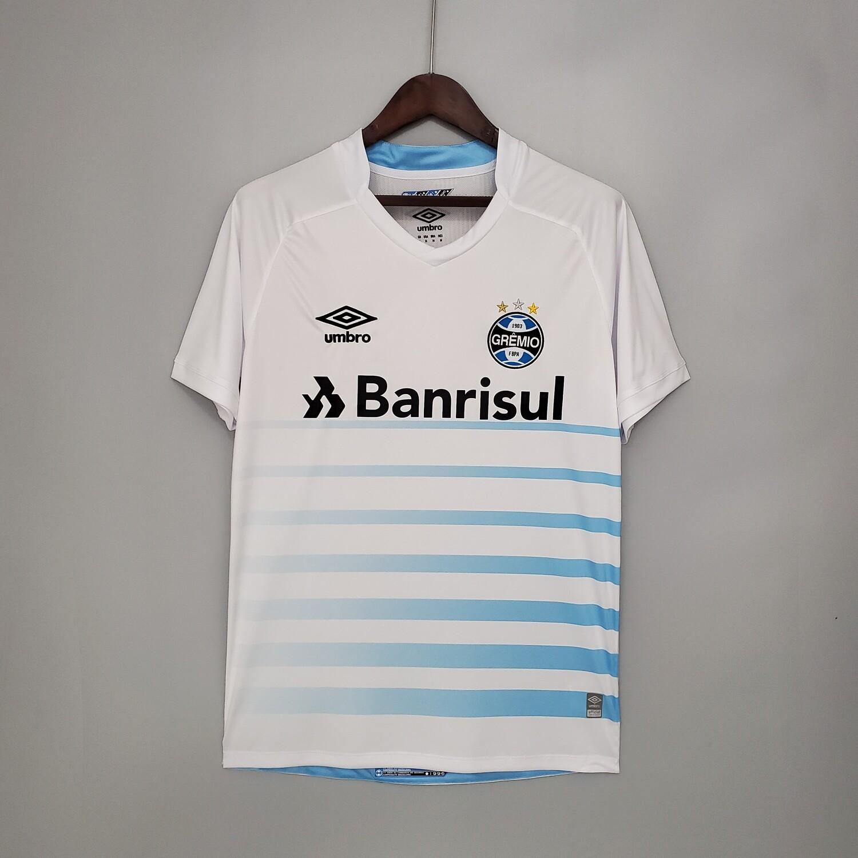 Camisa Grêmio II 21/22  Torcedor Umbro Masculina - Branco+Azul