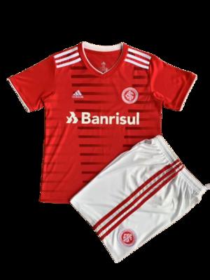 Camisa Internacional Infantil I 2021  Torcedor Adidas - Vermelho
