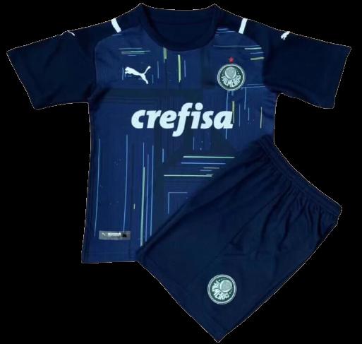 Camisa Goleiro Palmeiras Infantil 2021  Torcedor Puma