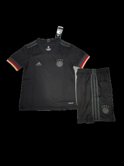 Camisa Alemanha 2021 Infantil Preta
