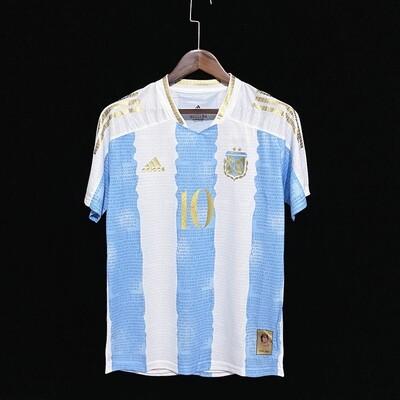 Camisa Argentina Comemorativa Maradona Fans Edição 2021