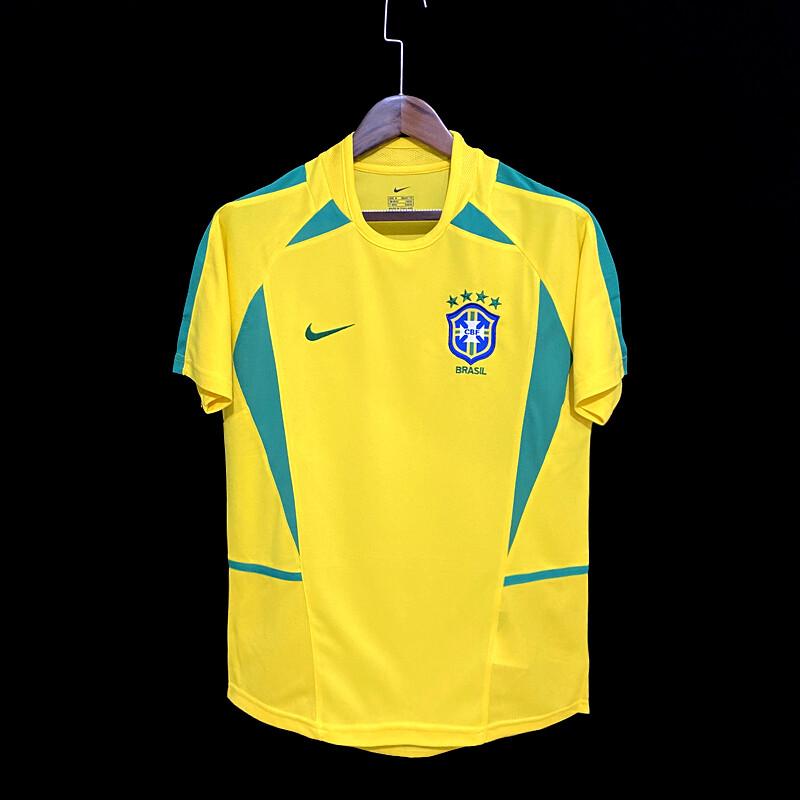 Camisa Seleção Brasileira Retrô 2002