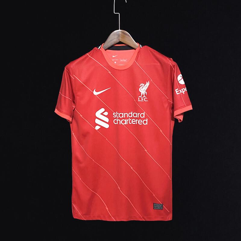 Camisa Liverpool FC 2021-2022 Home Nike