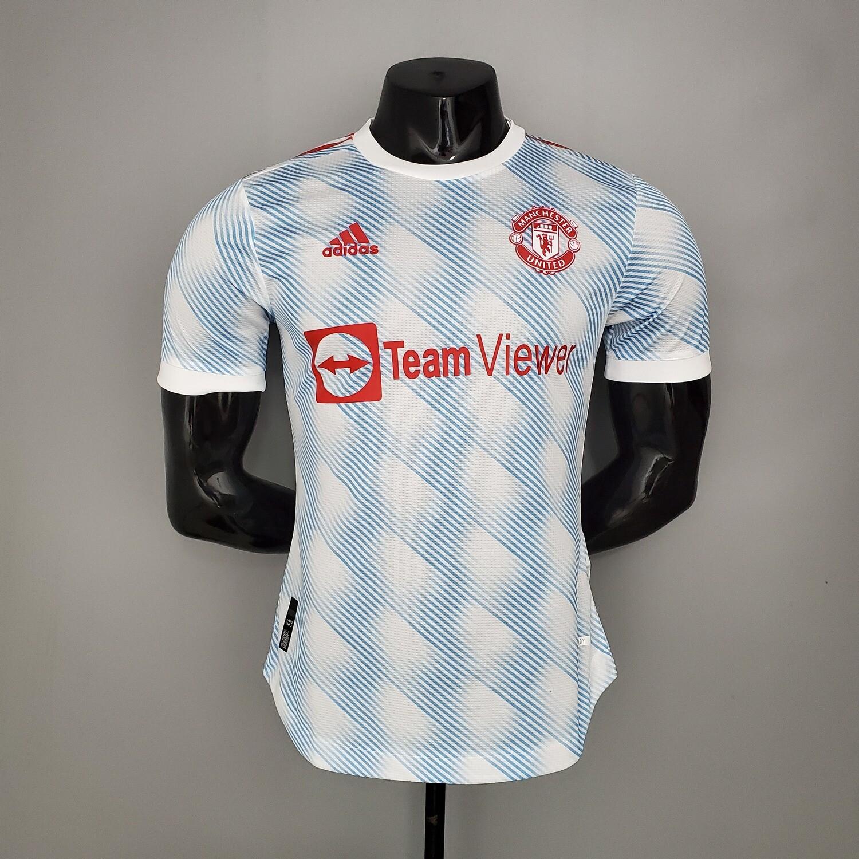 Camisa Manchester United Away 2021-2022 Adidas Jogador
