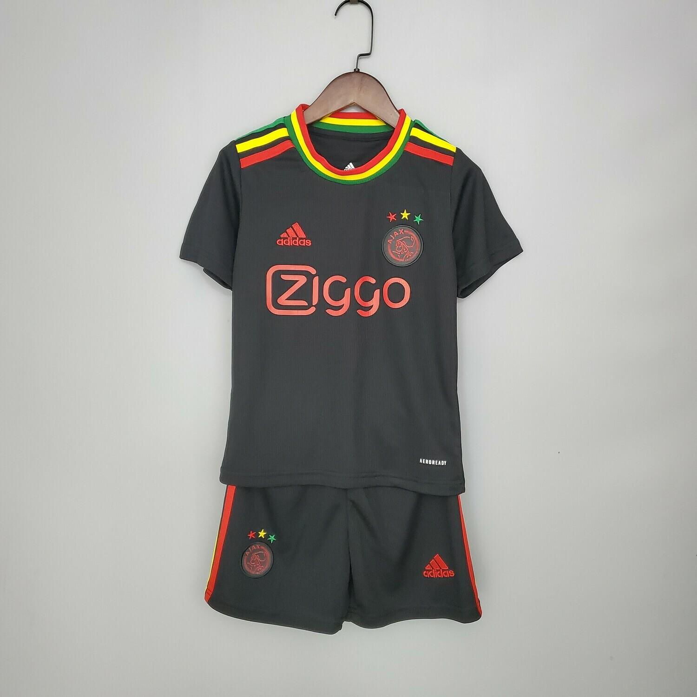Camisa Ajax  21/22 Adidas -Infantil + short