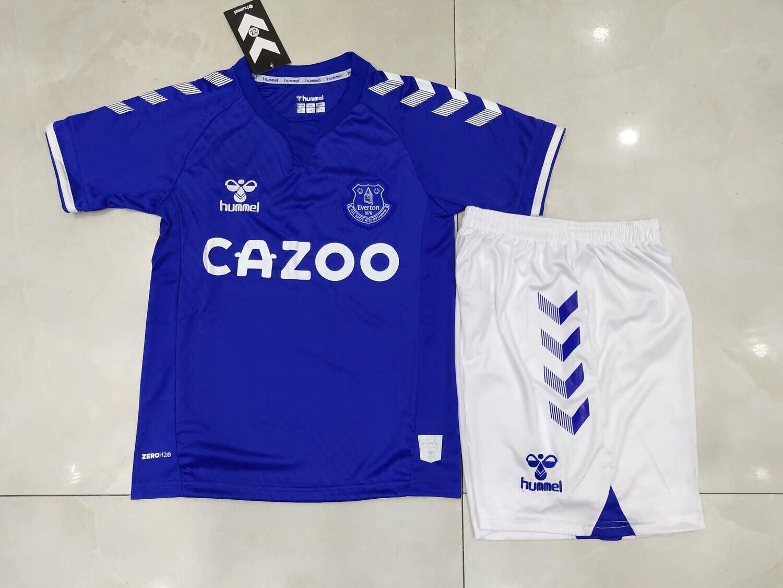 kit Camisa Everton 2020-21 (Home-Uniforme 1) - Infantil