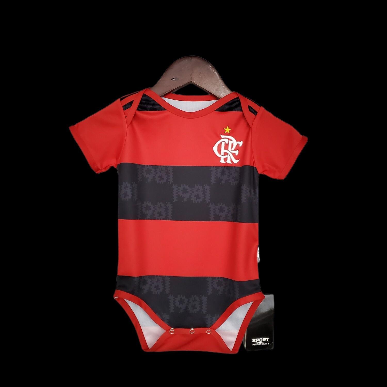 Body Flamengo Bebê  Unissex Com Personalização Grátis