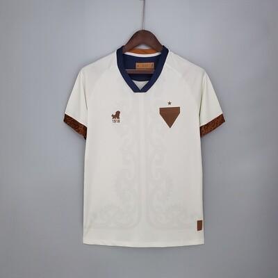 Camisa Leão 1918 Fortaleza Copa do Nordeste 2021 - Branco