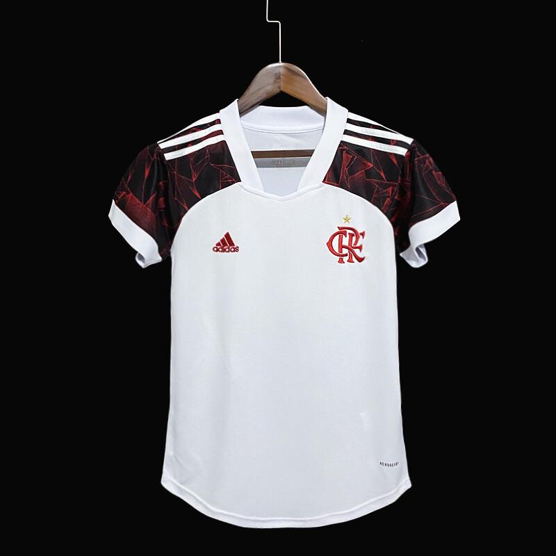 Camisa Flamengo Feminina Jogo 2 Adidas 2021