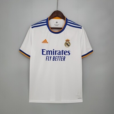 Camisa 1 Real Madrid 21/22  Torcedor