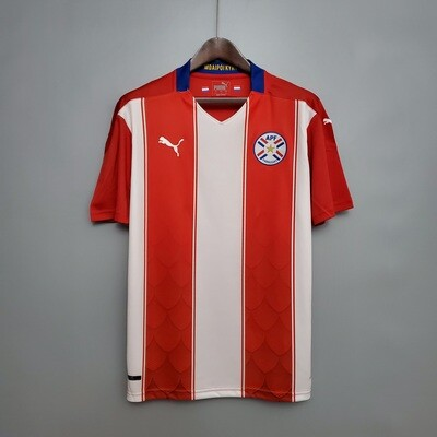 Camisa Paraguai Home  2020-2021 PUMA