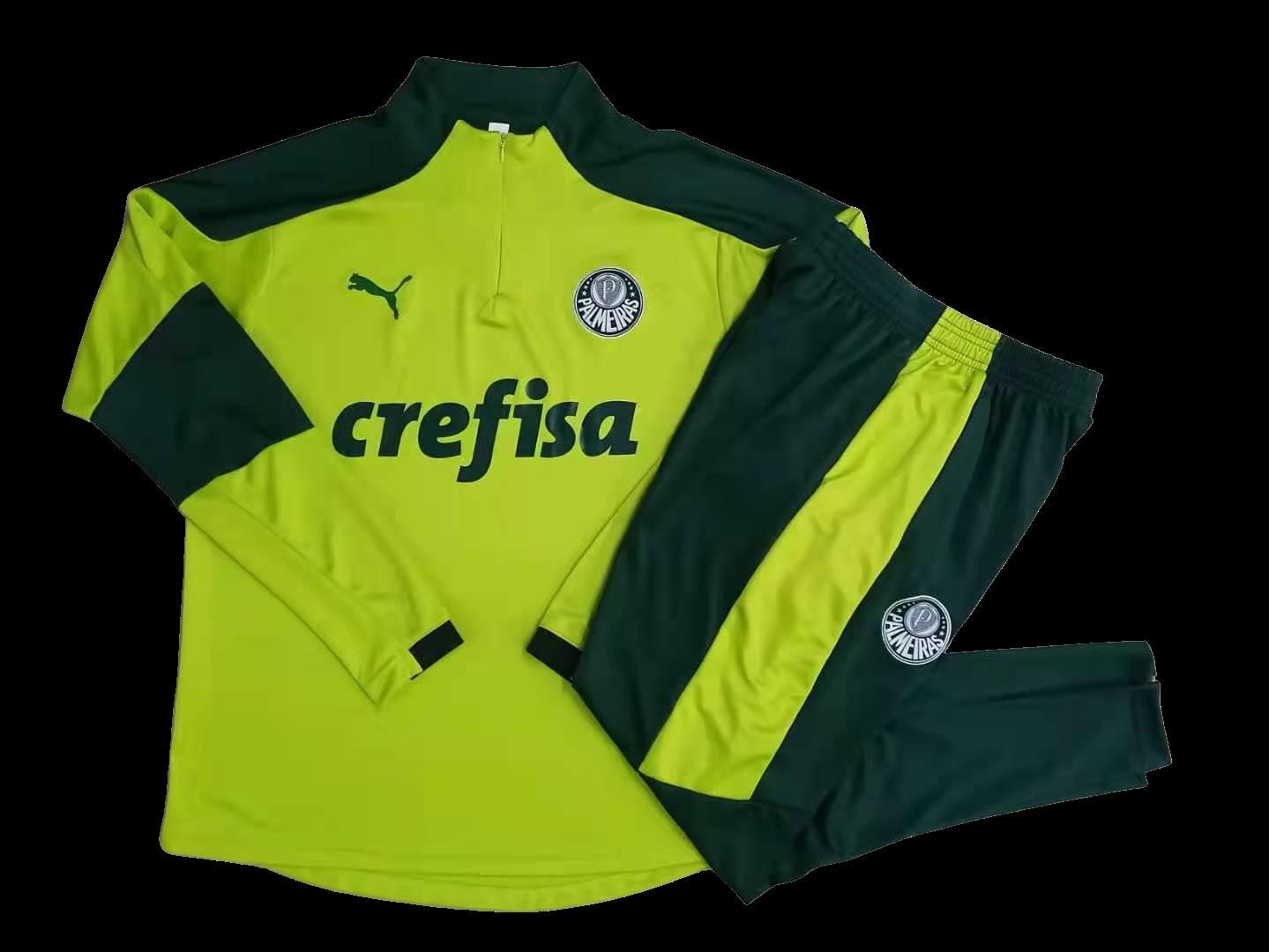 Kit Agasalho de Treinamento  Palmeiras 2021 Puma