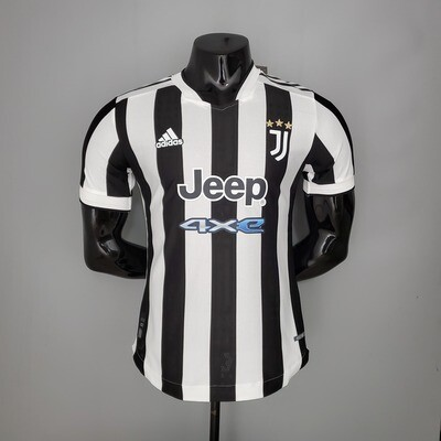 Camisa Juventus Home 2021-2022 Adidas-Jogador