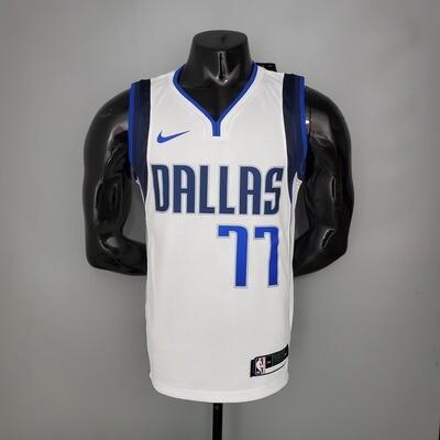 Regata NBA Nike - Dallas Mavericks Branca - Doncic #77