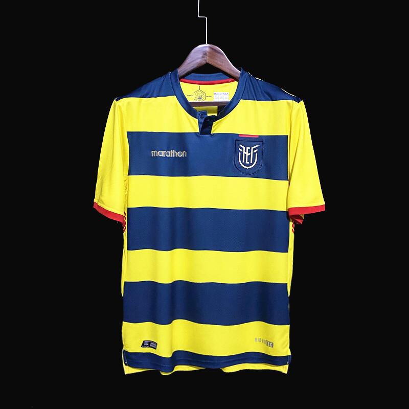 Camisas  Equador Home 2021-2022 Marathon